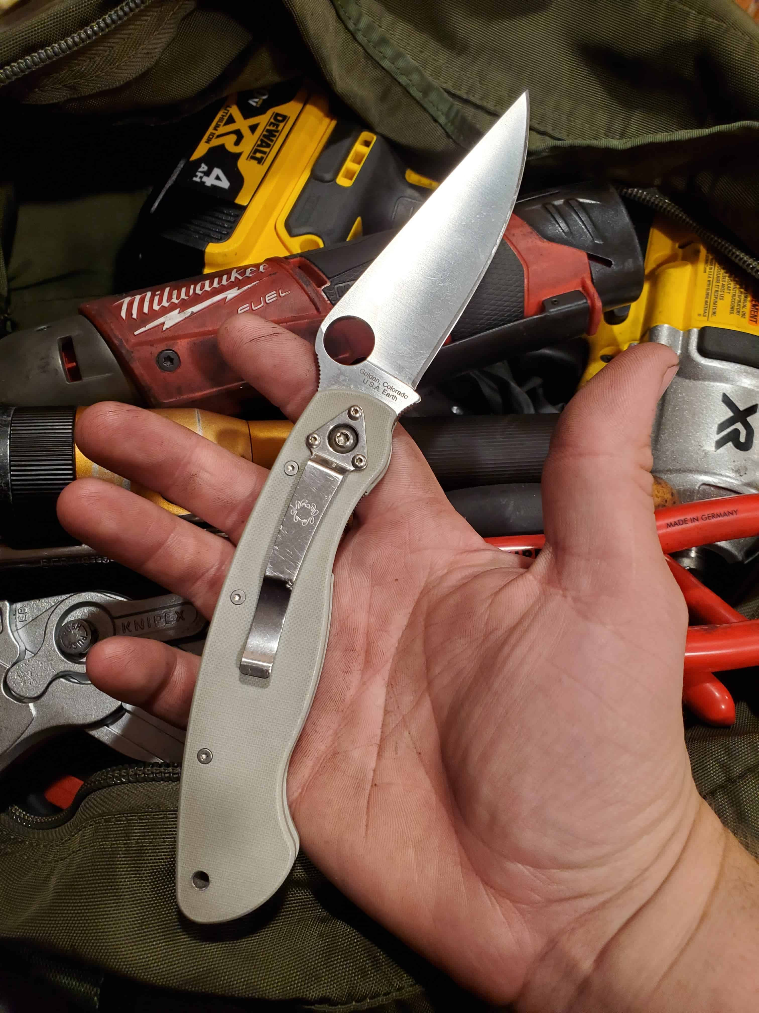 Spyderco Military Review | First World Crusader